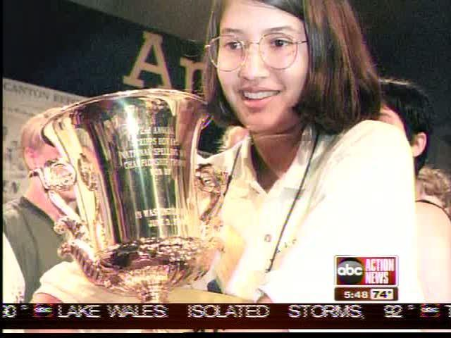 All week, ABC Action News is featuring the Scripps Spelling Bee spellers representing the Tampa Bay Area. In 1999, a speller from Tampa won the entire thing. Read on to see where she is now.