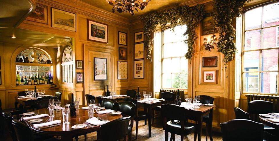 """<p>Smoked salmon, fig and stilton, parsnip and chestnut, mulled wine; <a href=""""https://www.countrylivingholidays.com/offers/hampshire-winchester-hotel-du-vin-hotel"""" rel=""""nofollow noopener"""" target=""""_blank"""" data-ylk=""""slk:Hotel Du Vin Winchester"""" class=""""link rapid-noclick-resp"""">Hotel Du Vin Winchester</a> does mouthwatering Christmas dishes with panache. You'll love the relaxed atmosphere here, too, and its ancient location. Winchester has a fabulous Christmas market in the old square, with its own ice rink and food and drinks stalls, making for a wonderful afternoon out. </p><p>You can return to the hotel to an extra special dinner, followed by a soak in the deep bath or powerful drench shower and a great night's sleep in Egyptian linens. Dogs are also welcome in bedrooms and public areas too.</p><p><a class=""""link rapid-noclick-resp"""" href=""""https://www.countrylivingholidays.com/offers/hampshire-winchester-hotel-du-vin-hotel"""" rel=""""nofollow noopener"""" target=""""_blank"""" data-ylk=""""slk:SAVE UP TO 20% WITH OUR OFFER"""">SAVE UP TO 20% WITH OUR OFFER</a></p>"""