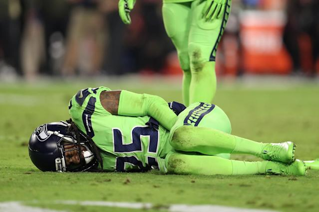Richard Sherman's injury is yet another reminder of the NFL's cold brutality. (AP)