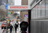 Millions of residents have been ordered to stay at home in New York and all non-essential businesses have been shut and schools closed