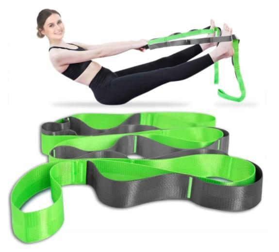 <p>Look no further than the <span>Onory Yoga Strap</span> ($10) for support during your daily stretching routines. This stretching strap features 12 independent loops so you can improve your flexibility and recover from workouts with a deeper stretch.</p>