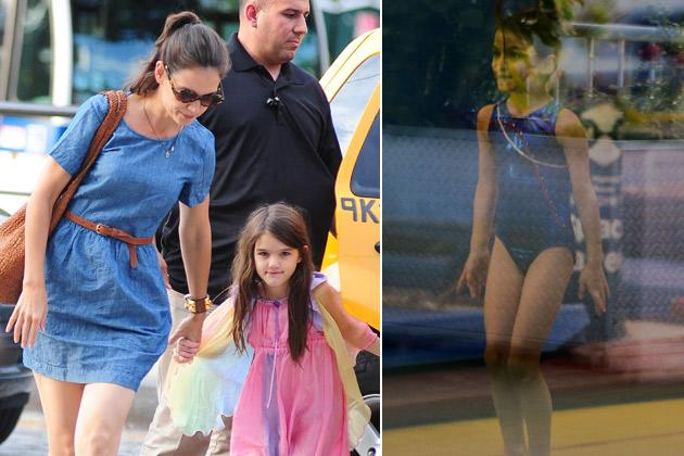 Nach Trennung im Eilverfahren: Katie Holmes turnt mit Suri durch New York (Bilder: Getty Images, Splash)