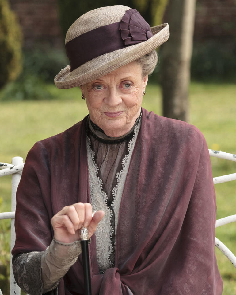 "Supporting Actress in a Drama Series: Maggie Smith, ""Downton Abbey"""