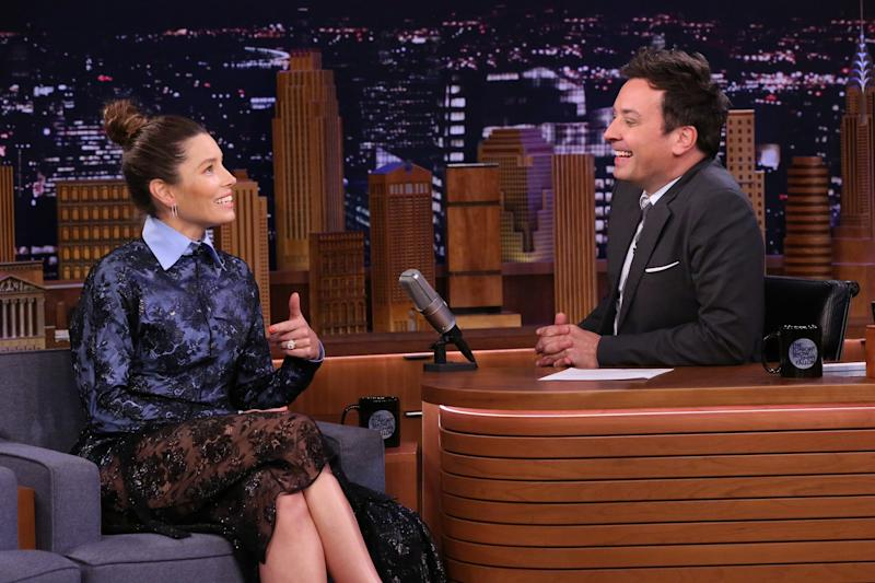 Busted! Jessica Biel reacts to resurfaced video of her admitting she's not an NSYNC fan