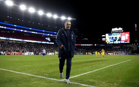 Sarri criticised the timing of Chelsea's end-of-season friendly in Boston, in which Ruben Loftus-Cheek was injured - Credit: CHELSEA FC