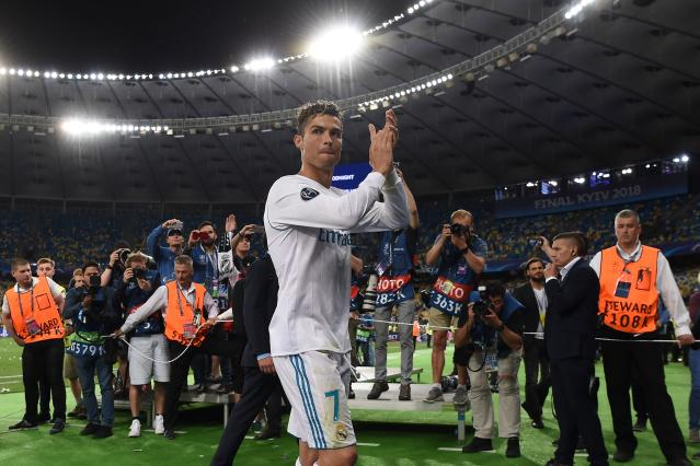 Cristiano Ronaldo won his fourth Champions League title in five years with Real Madrid this past May. (Getty)