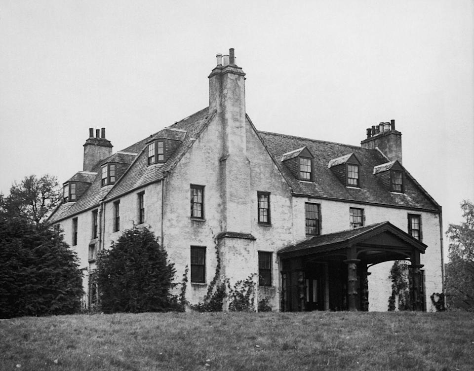 """<p>A part of the Balmoral Castle estate, <a href=""""https://www.princeofwales.gov.uk/biographies/royal-residences"""" rel=""""nofollow noopener"""" target=""""_blank"""" data-ylk=""""slk:Birkhall"""" class=""""link rapid-noclick-resp"""">Birkhall</a> was bought by Queen Victoria for her son Edward, Prince of Wales, in 1849. The former home of the Queen Mother, Prince Charles and the Duchess of Cornwall currently stay at the home when visiting Scotland.</p>"""