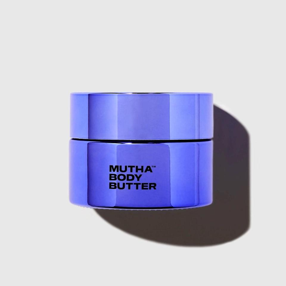 "Not to be confused with actual butter, this body cream has the smoothest, creamiest texture of all time. It literally melts onto your skin. It's perfect for my dryness and leaves my skin glowing, and it has the loveliest citrus smell. While the line is technically designed for pregnant women and is great for treating stretch marks, I can definitively say that as someone who is not yet a mother—and not planning to be for quite some time—it's an excellent body cream for anyone who wants extra hydration. I also appreciate that a portion of its sales are donated to midwife and nurse education programs to help lower maternal mortality rates. It's a buy thats good for the body and the soul. —<em>Bella Geraci, designer</em> $95, Mutha. <a href=""https://shop-links.co/1710422914540812588"" rel=""nofollow noopener"" target=""_blank"" data-ylk=""slk:Get it now!"" class=""link rapid-noclick-resp"">Get it now!</a>"