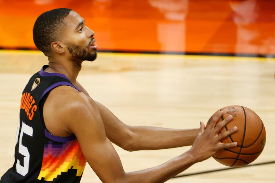 Mikal Bridges has flashed star potential with the Phoenix Suns. (Christian Petersen/Getty Images)
