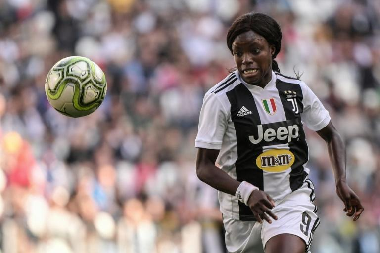 Eni Aluko in action for Juventus