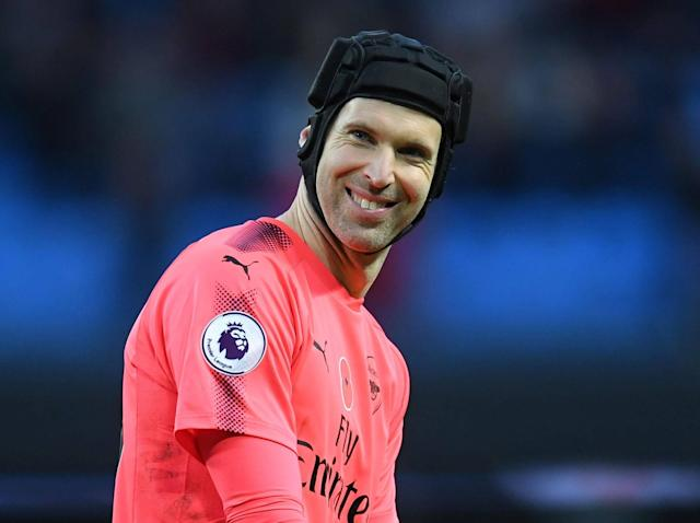 Arsenal's Petr Cech starts north London derby mind games early suggesting it's time Tottenham won a trophy