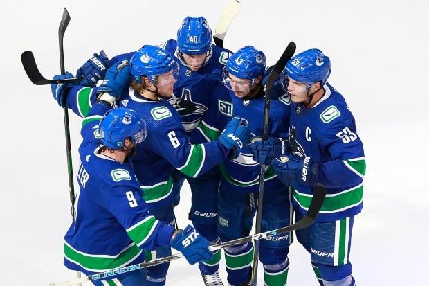 Veteran presence crucial to inexperienced Canucks learning on the fly in playoffs