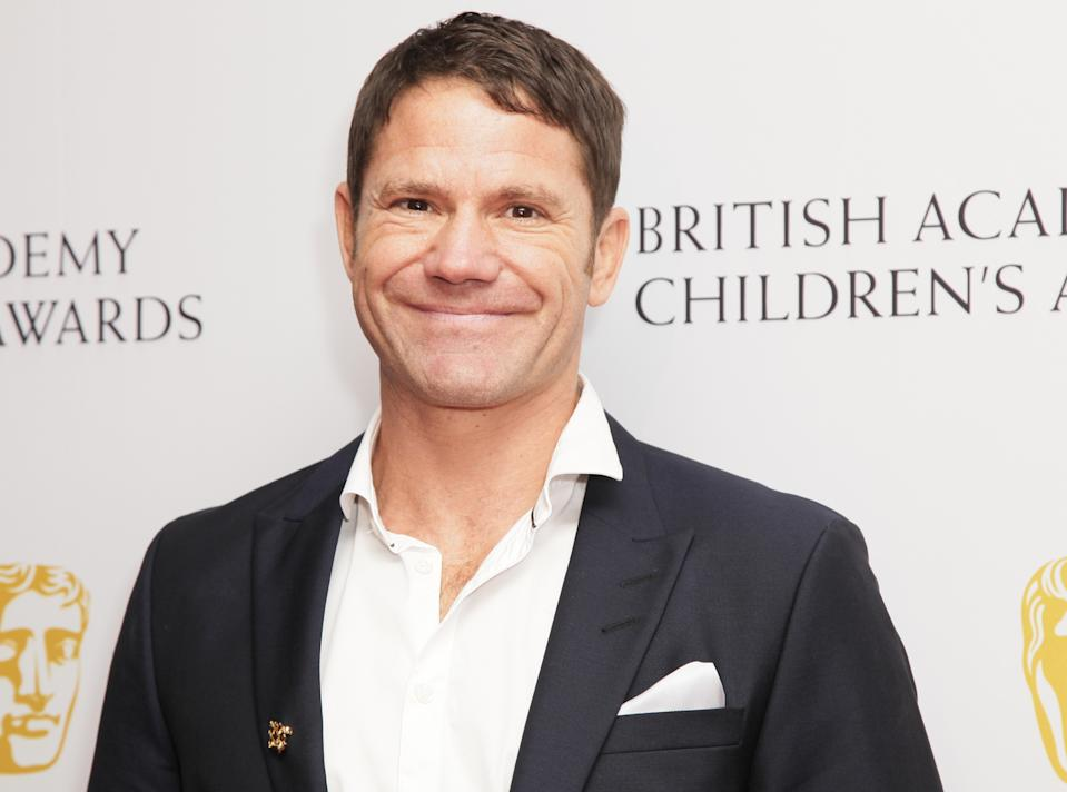 Steve Backshall poses for photographers as he arrives for the British Academy Children's Awards in London, Sunday, Nov. 23 2014. (Photo by Grant Pollard/Invision/AP)