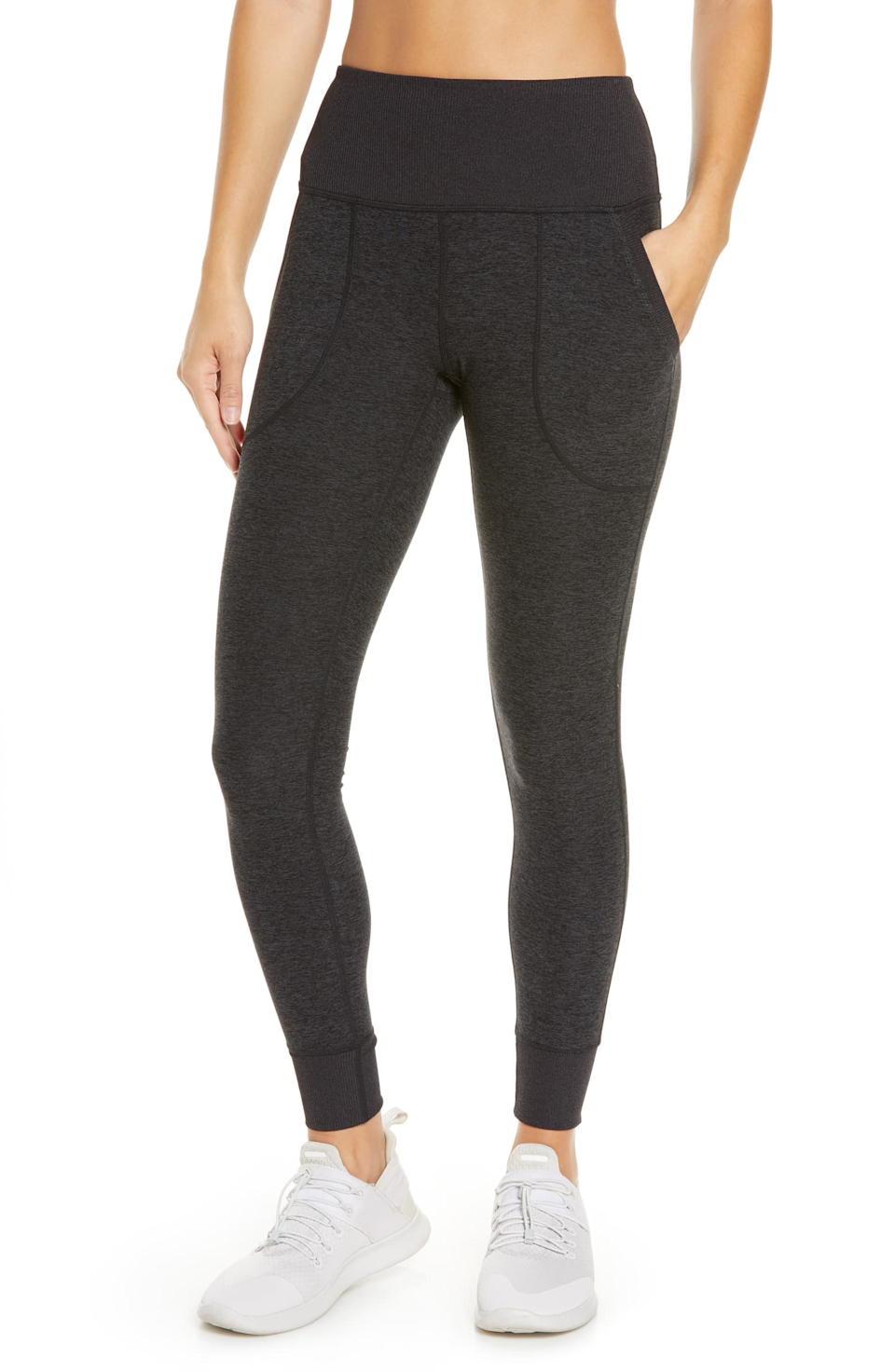 "<h2>Zella Restore Soft Pocket Lounge Legging</h2><br>Black leggings got the top-shopped 2020 treatment with <a href=""https://refinery29.com/en-us/soft-leggings"" rel=""nofollow noopener"" target=""_blank"" data-ylk=""slk:super-soft style iterations"" class=""link rapid-noclick-resp"">super-soft style iterations</a> — like this most wanted Zella pair (complete with pockets) that readers couldn't quit carting throughout September.<br><br><em>Shop <strong><a href=""https://www.nordstrom.com/s/zella-restore-soft-pocket-lounge-leggings/5527402"" rel=""nofollow noopener"" target=""_blank"" data-ylk=""slk:Zella"" class=""link rapid-noclick-resp"">Zella</a></strong></em><br><br><strong>Zella</strong> Restore Soft Pocket Lounge Leggings, $, available at <a href=""https://go.skimresources.com/?id=30283X879131&url=https%3A%2F%2Fwww.nordstrom.com%2Fs%2Fzella-restore-soft-pocket-lounge-leggings%2F5527402"" rel=""nofollow noopener"" target=""_blank"" data-ylk=""slk:Nordstrom"" class=""link rapid-noclick-resp"">Nordstrom</a>"