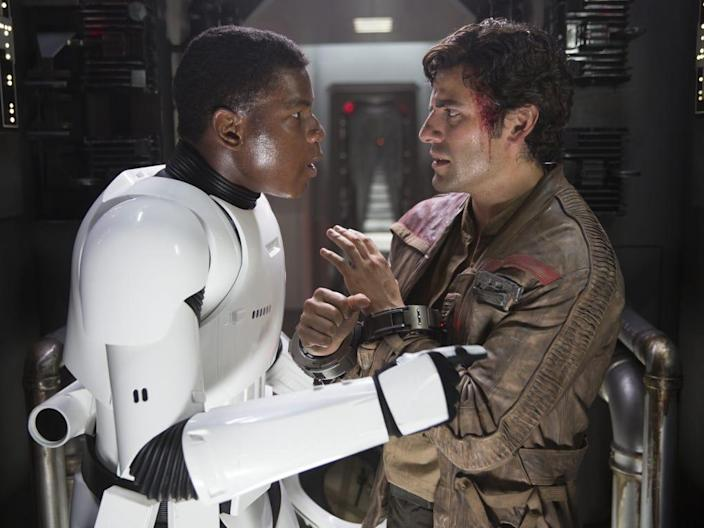 the force awakens finn poe