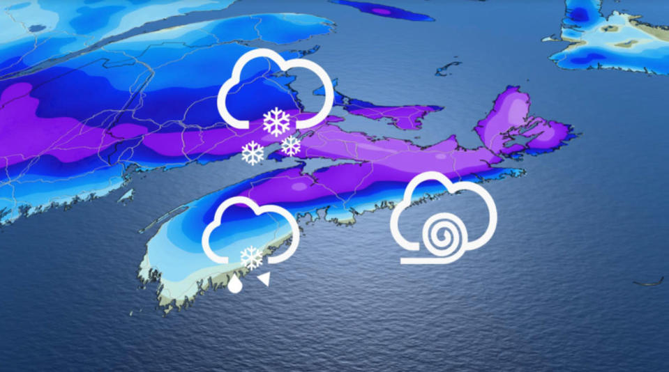 First storm of 2021 heading to the East Coast, snowfall warnings in effect