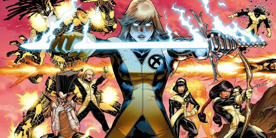 The New Mutants (credit: Marvel Comics)