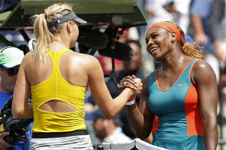 Tennis: Sony Open-Williams v Sharapova