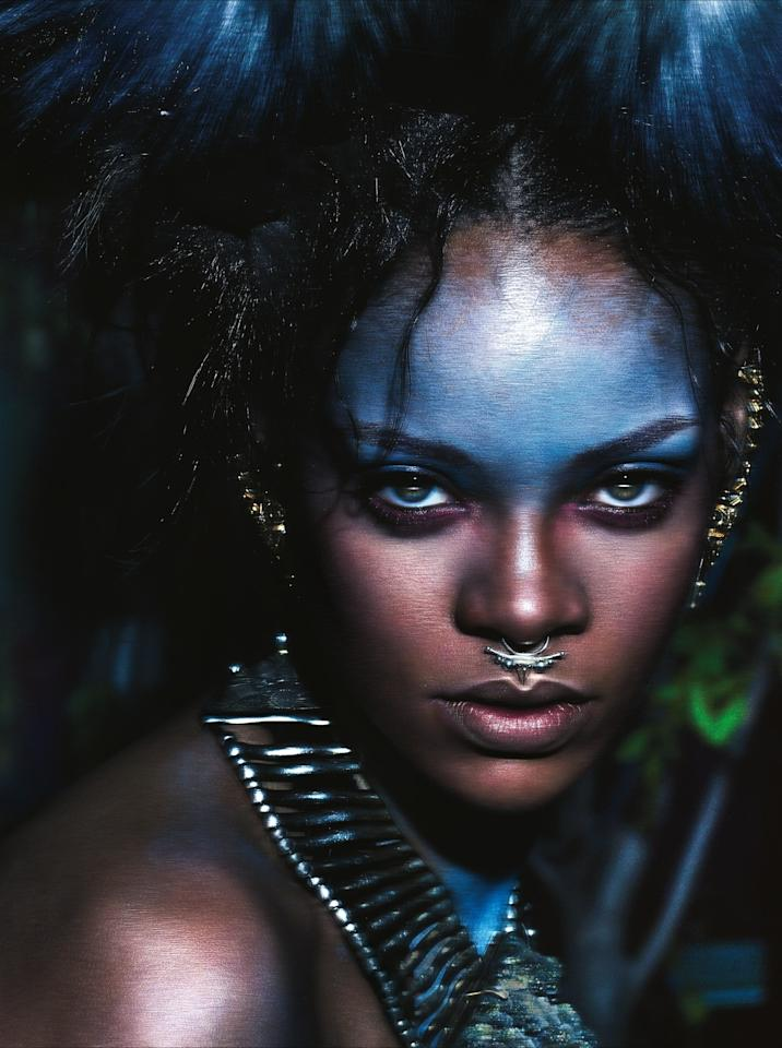 Rihanna photographed by Mert and Marcus for W Magazine, September 2014.