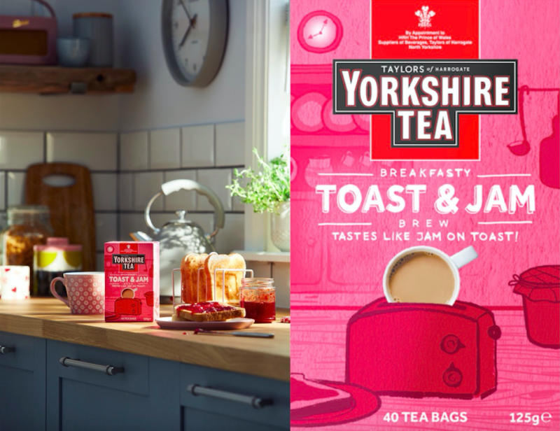 Yorkshire Tea have created a new Toast & Jam brew. (Yorkshire Tea)