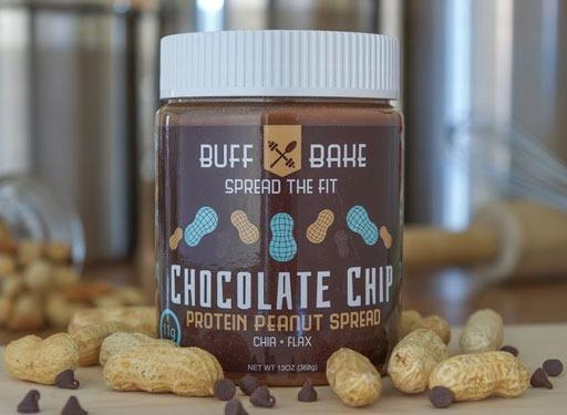 And the #1 Sweetened Spread is...BuffBake <br> Chocolate Chip Protein Peanut Spread