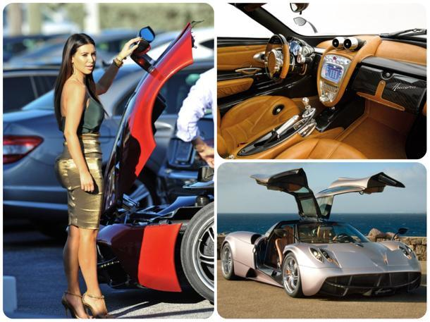 kim kardashian shops for the first 2 million pagani huayra in america. Black Bedroom Furniture Sets. Home Design Ideas