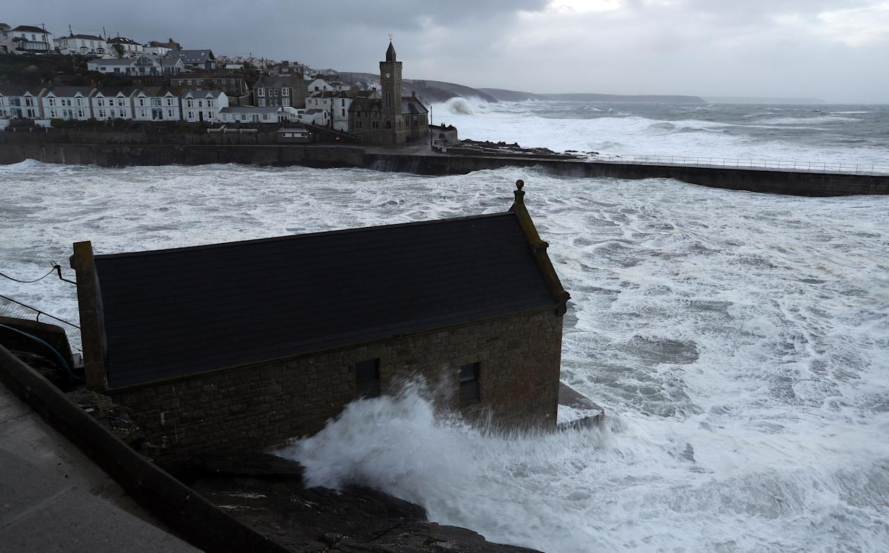 "<p>The Environment Agency has issued 44 flood alerts, as well as six flood warnings urging ""immediate action"". (PA) </p>"
