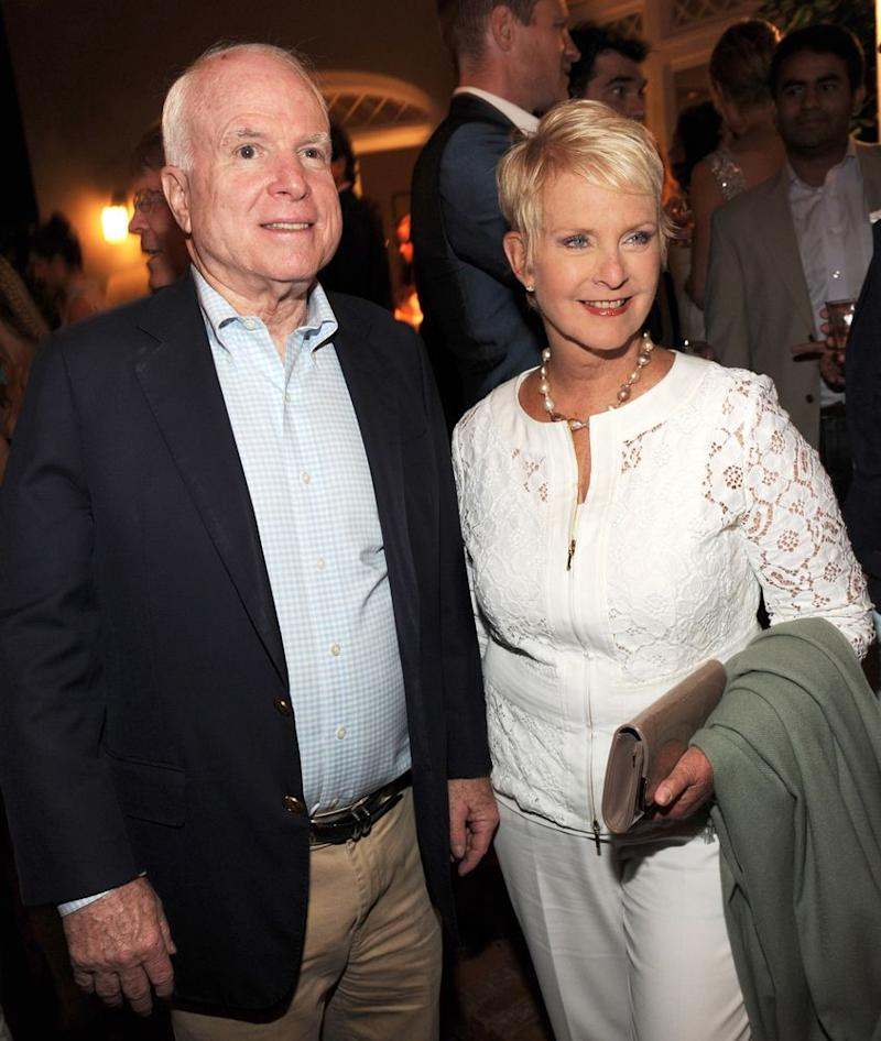John and Cindy McCain