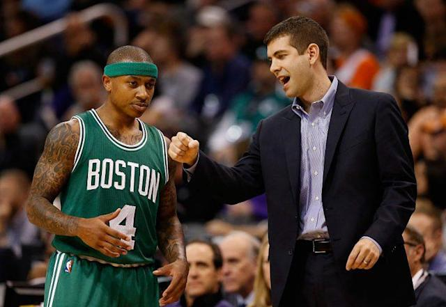 Brad Stevens and Isaiah Thomas just needed some time to get on the same page. (Getty Images)