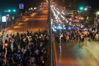 Rally demanding reforms on the monarchy in Bangkok