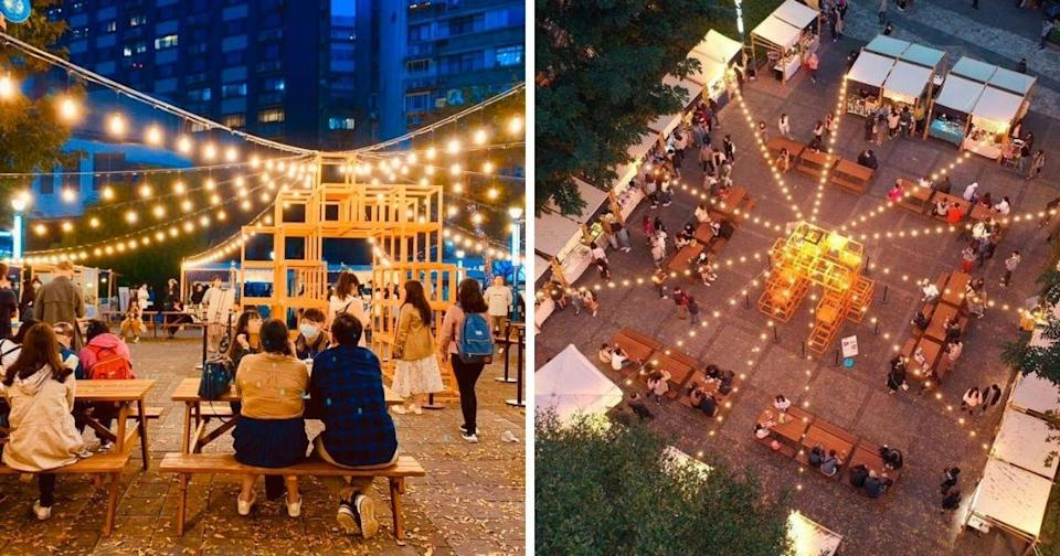 <p>Foodie market officially opened in theYizhongnightmarket in July. (Courtesy of Foodie Market/Facebook)</p>