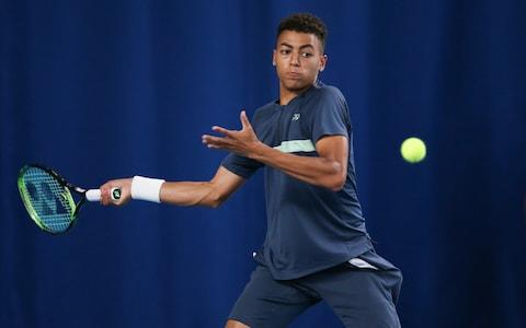 <span>19-year-old Paul Jubb was handed a Wimbledon wilcard</span> <span>Credit: Getty images </span>