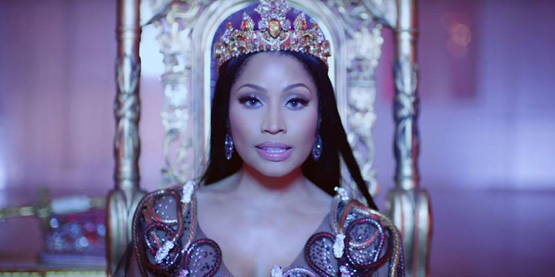 Photo credit: Nicki Minaj Vevo