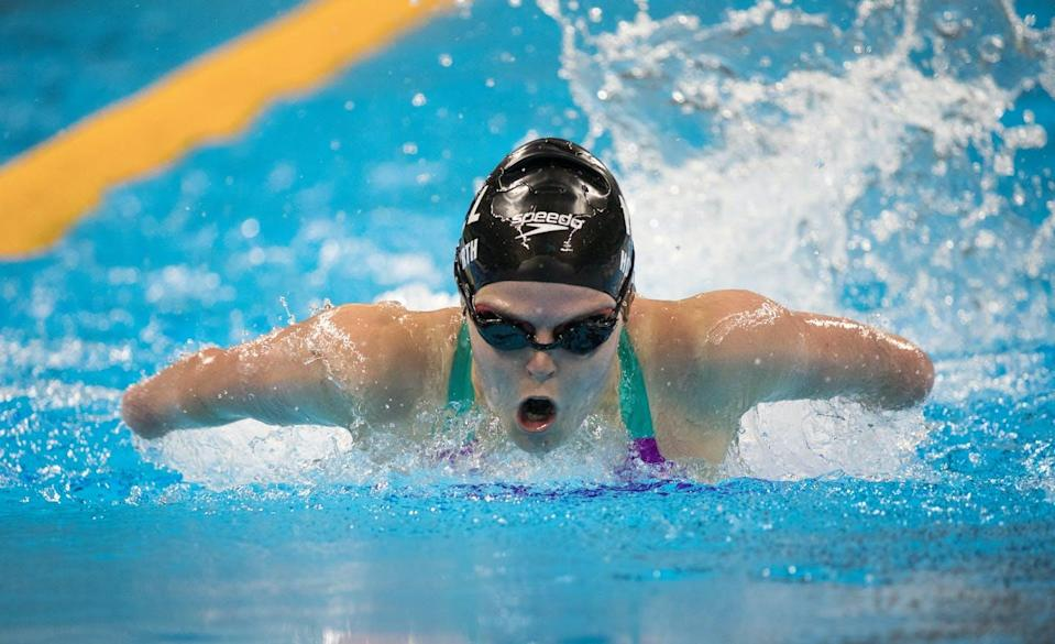 """<span class=""""caption"""">Swimmer Nikita Howarth of New Zealand competes at the 2016 Paralympic Games in Rio de Janeiro. </span> <span class=""""attribution""""><span class=""""source"""">(Simon Bruty/Olympic Information Service)</span>, <a class=""""link rapid-noclick-resp"""" href=""""http://creativecommons.org/licenses/by-nc/4.0/"""" rel=""""nofollow noopener"""" target=""""_blank"""" data-ylk=""""slk:CC BY-NC"""">CC BY-NC</a></span>"""