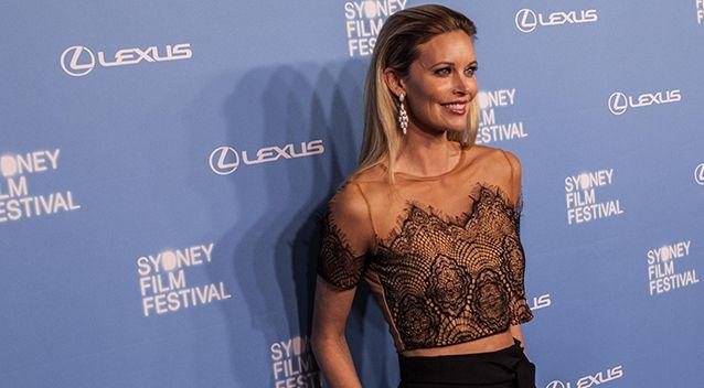 Kelly Landry pictured in 2015 at the Sydney Film Festival Opening Night Gala. Photo: AAP