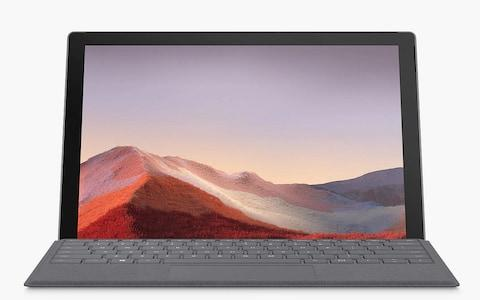 MicrosoftSurface Pro 7 with Keyboard Cover - Credit: John Lewis
