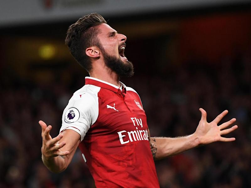 Giroud came off the bench to score Arsenal's winner on opening day (Getty Images)
