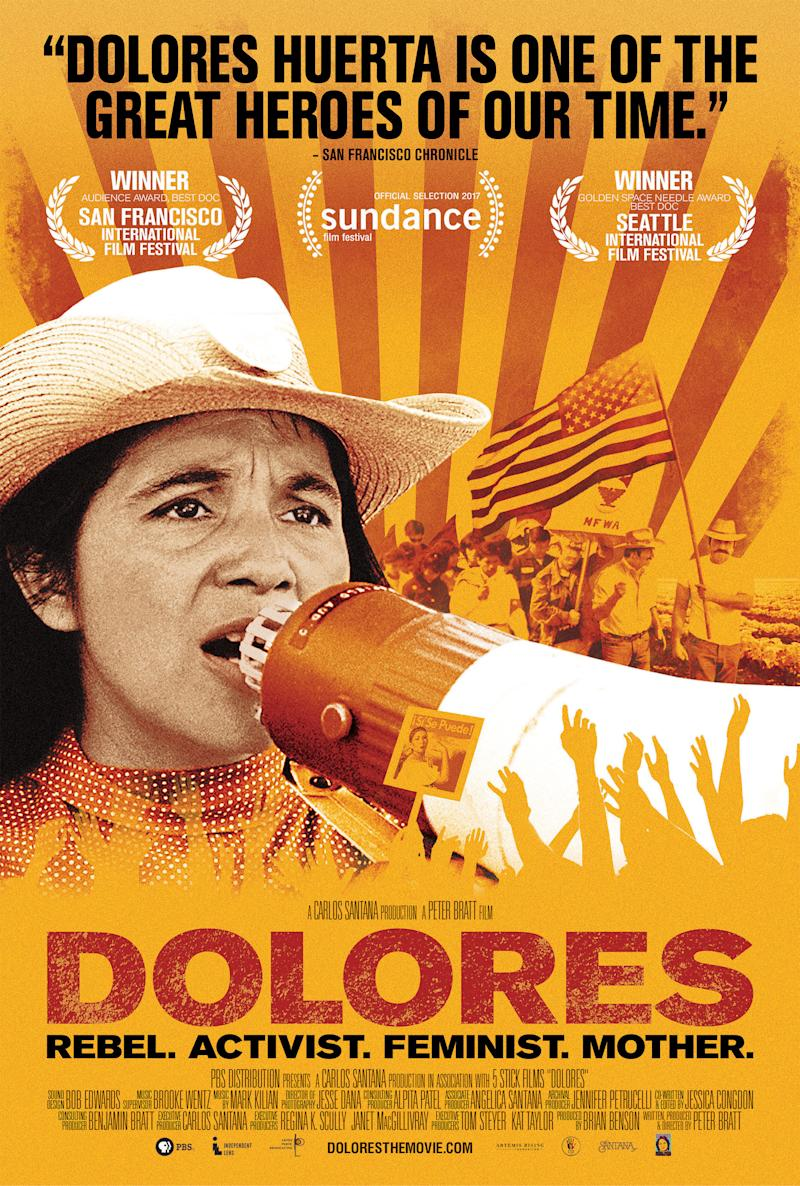 """The """"Dolores"""" film poster. (courtesy of PBS Distribution)"""