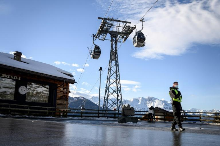 An air of gloom was palpable in the resort after a Swiss ruling which included a 10-day retrospective quarantine for anyone arriving from Britain since December 14