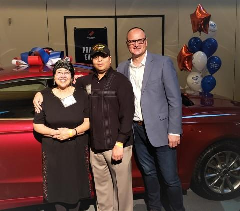 Pep Boys Presents Automotive Gift Cards, Safety Kits to More Than 100 Veterans