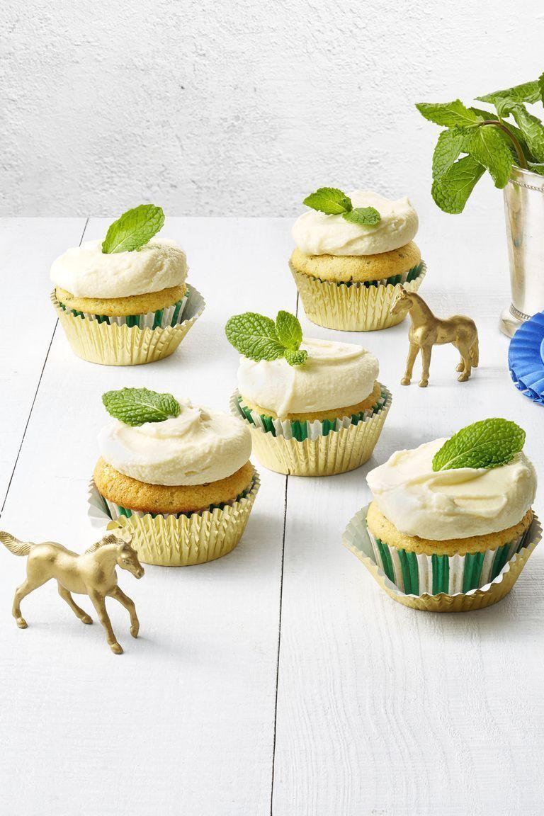 "<p>You might want to pair these cupcakes with a batch of cocktails by the same name. Just sayin'.</p><p><em><a href=""https://www.goodhousekeeping.com/food-recipes/dessert/a19866233/mint-julep-cupcakes-recipe/"" rel=""nofollow noopener"" target=""_blank"" data-ylk=""slk:Get the recipe for Mint Julep Cupcakes »"" class=""link rapid-noclick-resp"">Get the recipe for Mint Julep Cupcakes »</a></em> </p>"