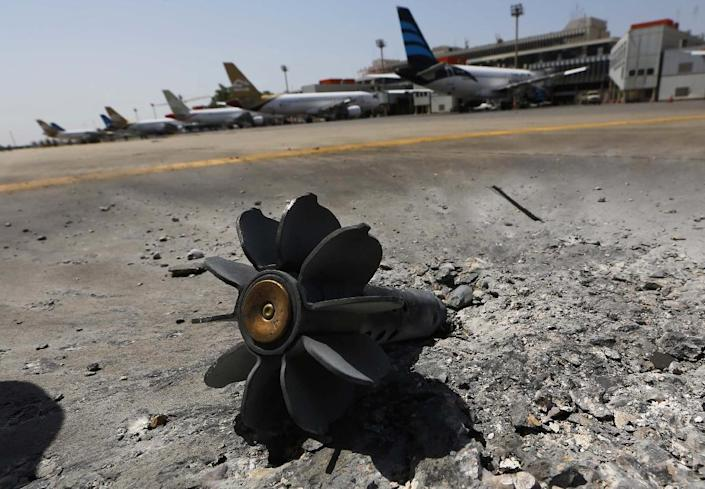 Tripoli International Airport was badly damaged by fighting between rival militias in 2014, three years after the uprising that toppled and killed Libyan dictator Moamer Kadhafi (AFP Photo/MAHMUD TURKIA)