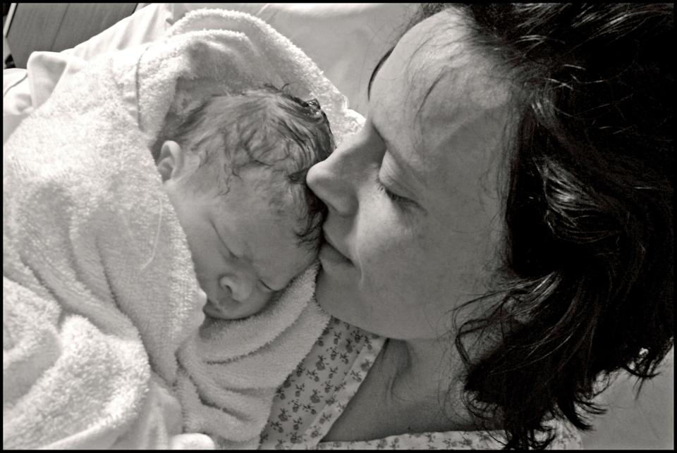 """MANDATORY CREDIT RICHARD STANTON  Undated handout photo issued by Richard Stanton of Rhiannon Davies with her daughter Kate Stanton Davies who died shortly after birth in 2009 as an inquiry into maternity care at a hospital trust  is likely to be the NHS's worst ever maternity scandal. PA Photo. Issue date: Tuesday November 19, 2019. A leaked report shows that a """"toxic"""" culture stretching back 40 years was in place when babies and mothers suffered avoidable death. Children were also left with permanent disability amid substandard care at Shrewsbury and Telford Hospital NHS Trust. See PA story HEALTH Maternity. Photo credit should read: Richard Stanton/PA Wire    NOTE TO EDITORS: This handout photo may only be used in for editorial reporting purposes for the contemporaneous illustration of events, things or the people in the image or facts mentioned in the caption. Reuse of the picture may require further permission from the copyright holder."""