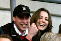 <p>Kate and William seem unfazed by the media scrutiny, laughing and joking in public.<br><i>[Photo: PA]</i> </p>