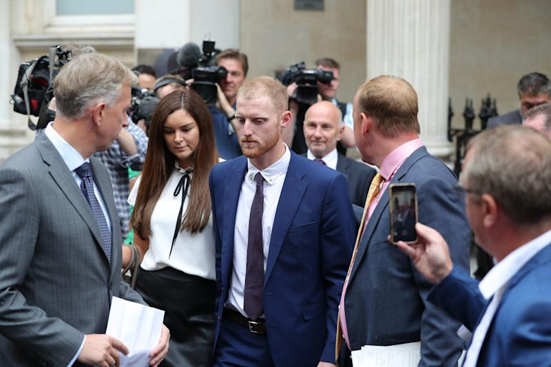 Gay couple thank Ben Stokes for 'sticking up' for them as he is cleared of affray