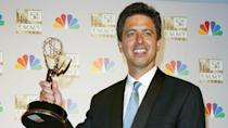 """<p>Comedian-turned-TV star Ray Romano starred on the sitcom """"Everybody Loves Raymond"""" from 1996 to 2005. He's starred in a number of other series since then, including """"Men of a Certain Age"""" and """"Parenthood."""" Up next, he will star in the series """"Made for Love,"""" due out this year.</p> <p><a href=""""https://www.gobankingrates.com/net-worth/celebrities/ray-romano-net-worth/?utm_campaign=1047087&utm_source=yahoo.com&utm_content=52"""" rel=""""nofollow noopener"""" target=""""_blank"""" data-ylk=""""slk:Click through to see how wealthy the small screen has made Romano."""" class=""""link rapid-noclick-resp"""">Click through to see how wealthy the small screen has made Romano.</a></p> <p><em><strong>Read More: <a href=""""https://www.gobankingrates.com/net-worth/celebrities/slippery-slope-led-celebrities-riches-rags/?utm_campaign=1047087&utm_source=yahoo.com&utm_content=53"""" rel=""""nofollow noopener"""" target=""""_blank"""" data-ylk=""""slk:18 Celebrities Who Lost It All"""" class=""""link rapid-noclick-resp"""">18 Celebrities Who Lost It All</a></strong></em></p> <p><small>Image Credits: STEWART COOK/REX</small></p>"""
