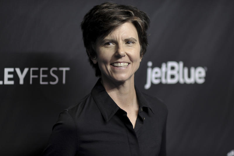 """Tig Notaro attends the 36th Annual PaleyFest """"Star Trek: Discovery and The Twilight Zone"""" at the Dolby Theatre on Sunday, March 24, 2019, in Los Angeles. (Photo by Richard Shotwell/Invision/AP)"""