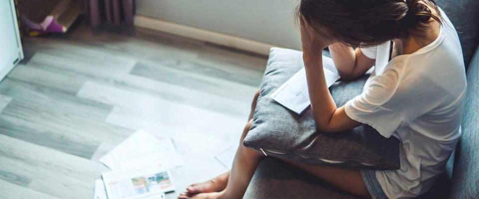 Young women worried about bills