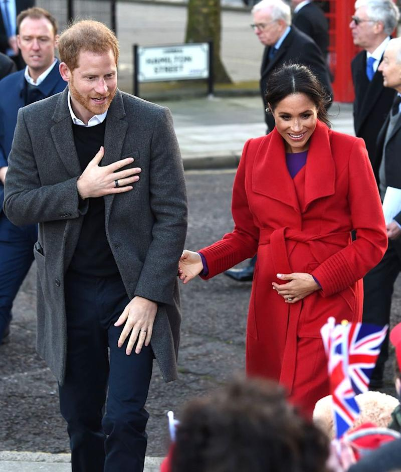 Countdown To Royal Baby Is On! Meghan Markle Reveals First