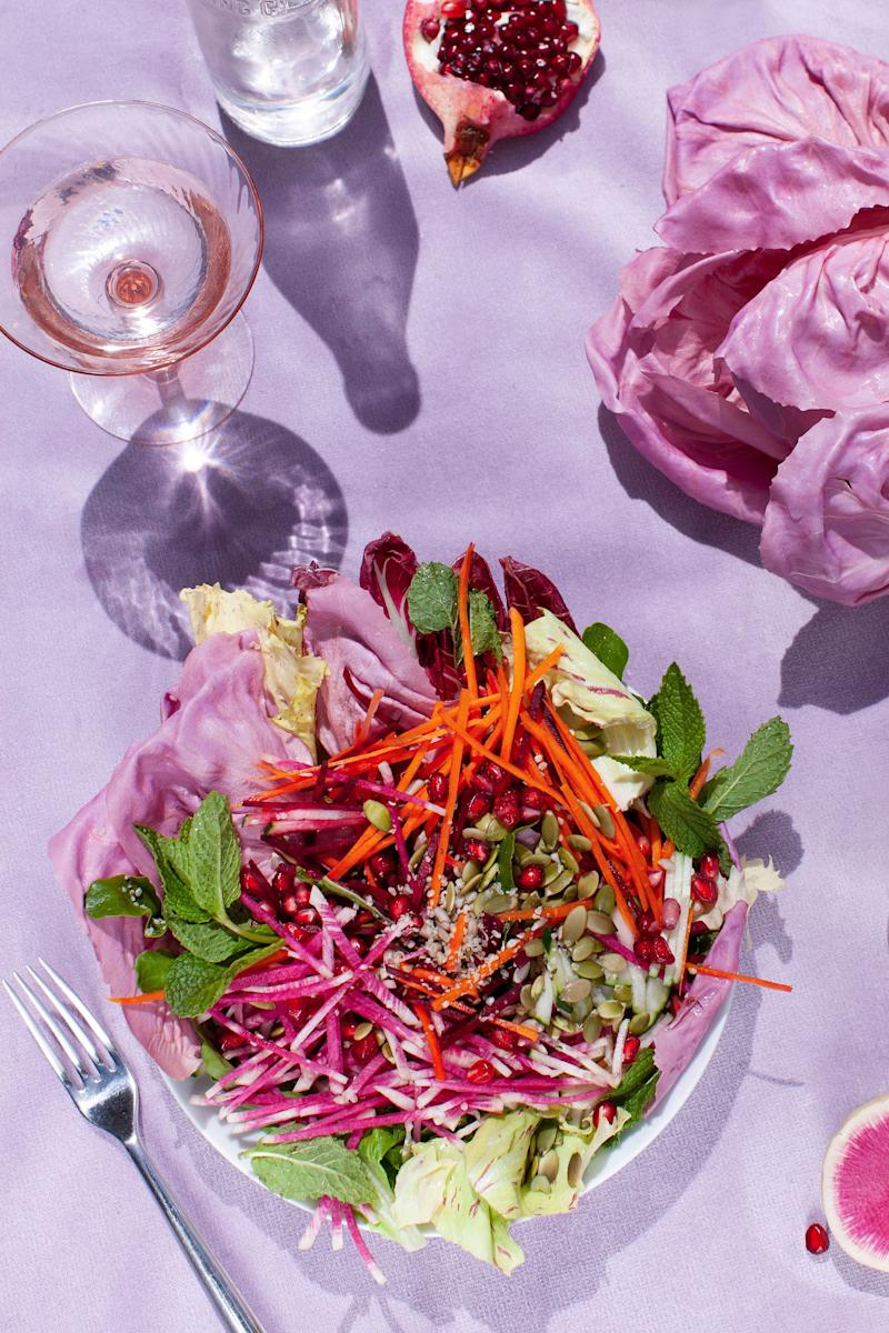 """This is the ultimate age-fighting, ultrahydrating beauty-in-a-bowl salad, specifically designed to enhance your natural beauty from the inside out."""